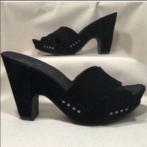 Donald J. Pliner Hilene Suede Sandal Size 8.5M